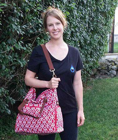 Lindsey who won a bag !