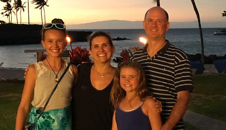 Lauren Hanley and family