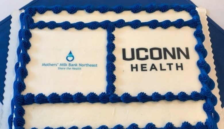 Cake at Greater Hartford milk depot opening
