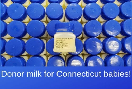 Public hearing on donor milk for Connecticut babies