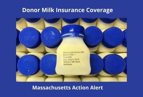 Insurance coverage for donor milk