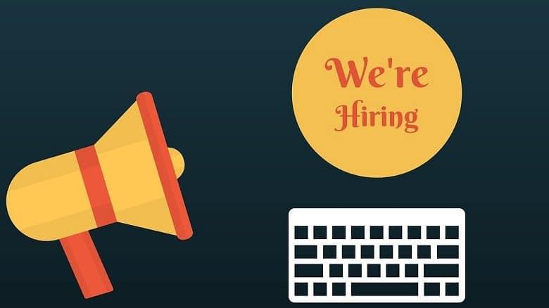 we'e hiring a web developer