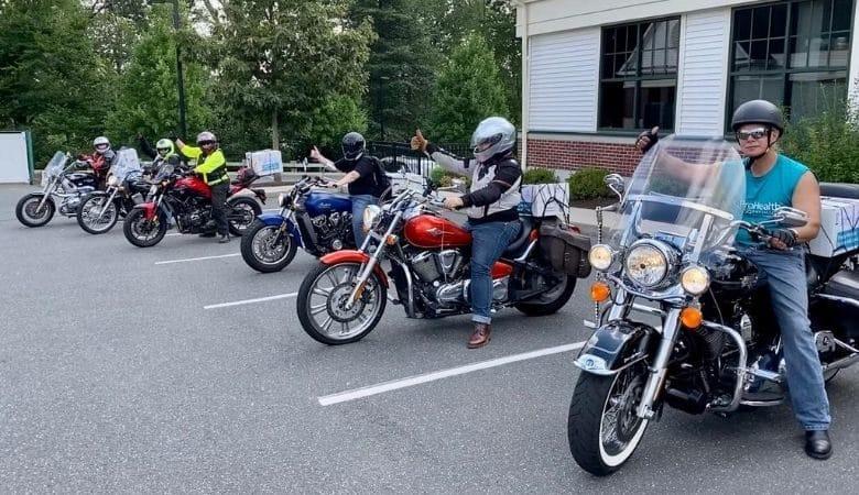 Bikers rescue 1000 oz of donated breast milk