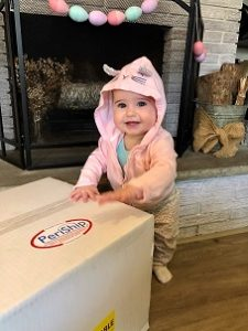 Baby with allergy whose mom donated milk to milk bank