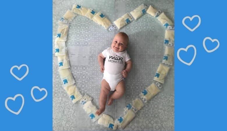 Baby of Rhode Island mom who donated milk