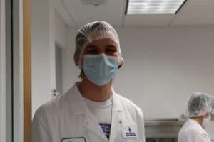 lab professionals week - pasteurization lab tech