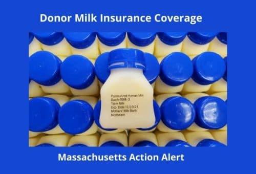 hearing on donor milk insurance coverage in Massachusetts